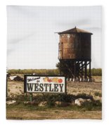 Welcome To Westley Fleece Blanket