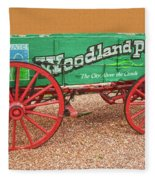 Woodland Park, Colorado, The City Above The Clouds, Elevation 8500 Feet, 2590 Meters Above Sea Level Fleece Blanket
