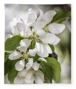 Welcoming Spring Fleece Blanket