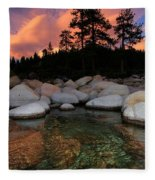 Welcoming Waters Fleece Blanket