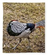 Well Plumed Bird Fleece Blanket