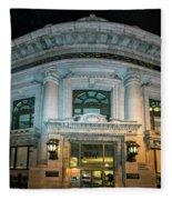 Wells Fargo Bank Building In San Francisco, California Fleece Blanket