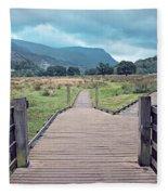 Welsh Landscape Fleece Blanket
