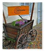 Weltladen Cart Fleece Blanket