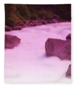 Wenatchee River  Fleece Blanket