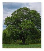 Wenham Ma Farm Tree Tender Crop Farm Fleece Blanket