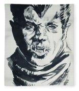 Werewolf Of London Fleece Blanket