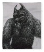 Werewolf Fleece Blanket