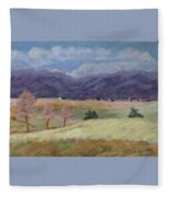 West Virginia Landscape             Fleece Blanket