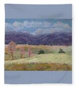 West Virginia Landscape             Fleece Blanket