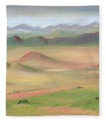 Westcliffe Valley II Fleece Blanket