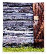 Western Door Fleece Blanket