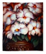 Western Flowers Fleece Blanket