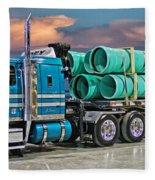 Western Star Ipex Truck Fleece Blanket
