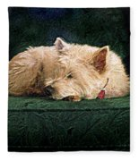 Westie Nap Fleece Blanket