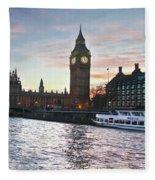 Westminster London Fleece Blanket