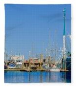 Westport Docks Color Fleece Blanket