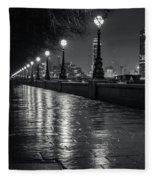 Wet Pathway Fleece Blanket