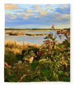 Wetlands In Cape Breton Fleece Blanket