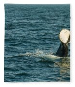 Whale Fleece Blanket