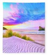 Wharariki Beach Fleece Blanket