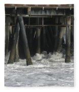 Wharf 2 Fleece Blanket