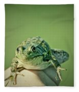 What Are You Looking At Fleece Blanket