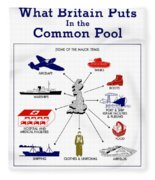What Britain Puts In The Common Pool Fleece Blanket