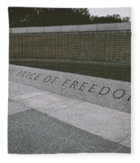 What Does Freedom Cost? Fleece Blanket