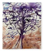 What Is The Tree? Fleece Blanket