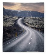What Lies Ahead Fleece Blanket