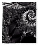 What Tangled Webs We Weave Fleece Blanket
