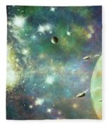What's Out There Fleece Blanket