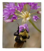 What's The Buzz Fleece Blanket