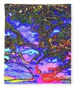 Whatwoods Tree Fleece Blanket