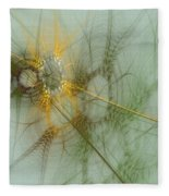 Wheat Design Fleece Blanket