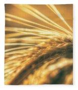 Wheat Ear Fleece Blanket