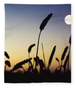 Wheat Field, Ireland Wheat Field And Fleece Blanket