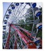 Wheel At The Fair Fleece Blanket