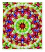 Wheel Fleece Blanket