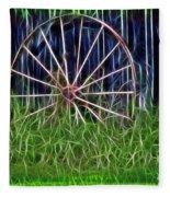 Wheel Of Fortune Fleece Blanket