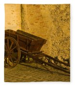 Wheelbarrow Fleece Blanket