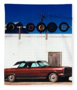 Wheels Fleece Blanket