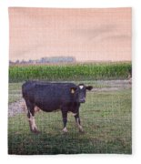 When I Finish My Dinner I'll Deal With You Fleece Blanket
