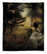 When The Forest Calls Fleece Blanket