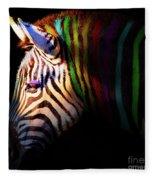 When Zebras Dream 7d8908 Square Fleece Blanket
