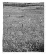 Where Custer Fell, Little Big Horn Fleece Blanket