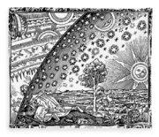 Where Heaven And Earth Meet 1888 Fleece Blanket