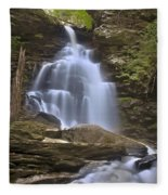 Where Waters Flow Fleece Blanket