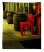 Whiskey Row Fleece Blanket